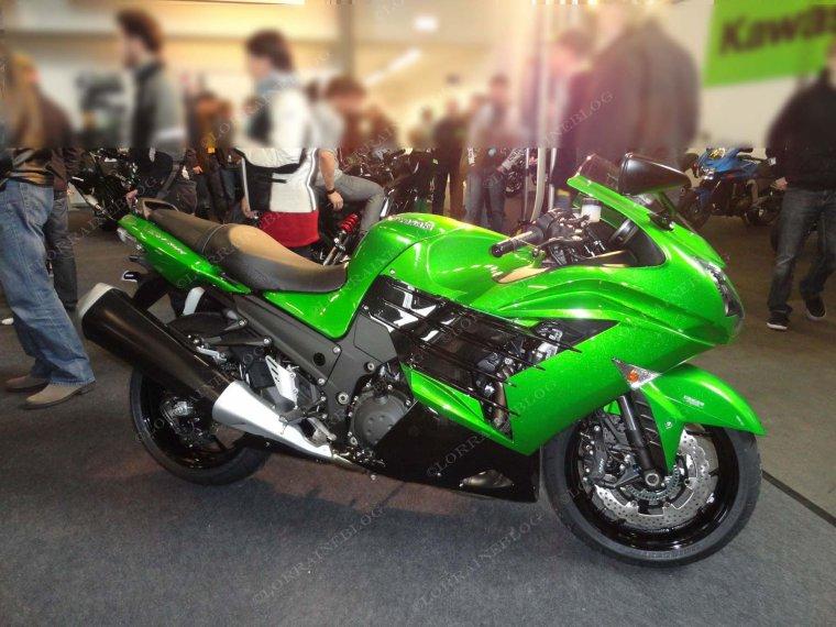 ZZR1400 Kawasaki vu par Béa pour lorraineblog