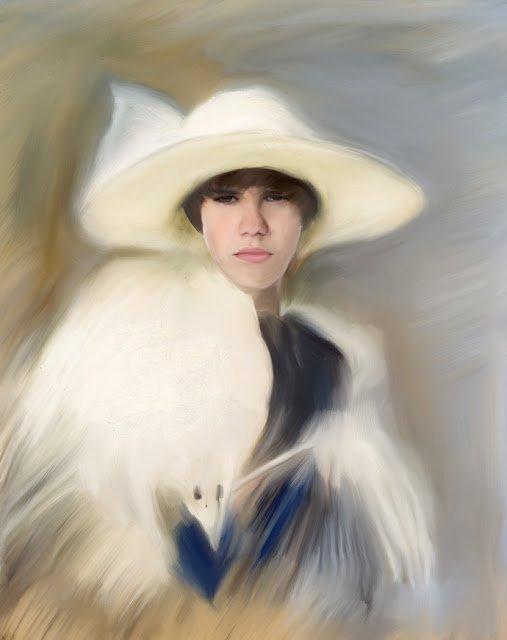 Justin Bieber par Béa pour lorraineblog