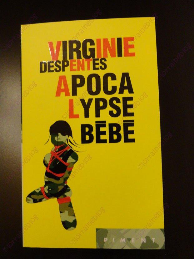 Virginie Despentes lu par Béa pour lorraineblog
