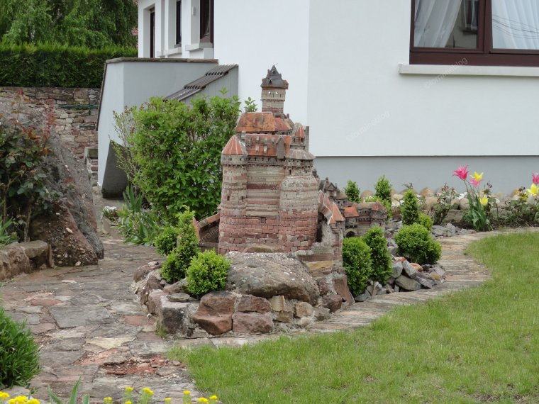 Copie conforme du château du Haut Koenigsbourg vu par Béa pour lorraineblog