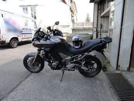 Kawasaki Versys 1000 vu par Béa pour lorraineblog