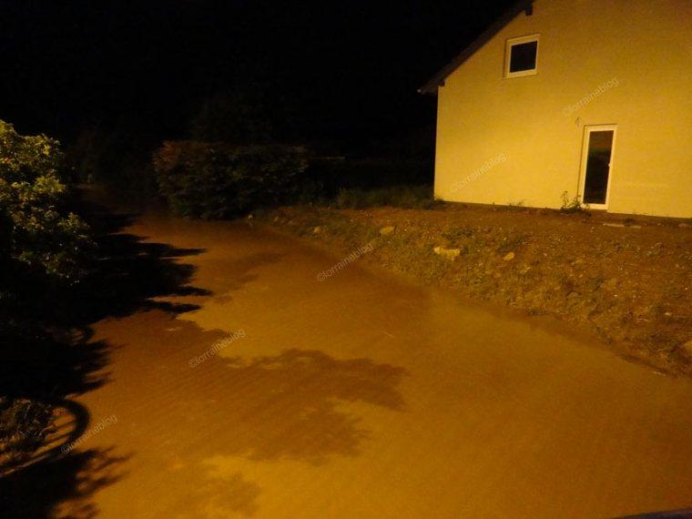 Flash évènement : Inondations à Woustviller vu par Béa pour lorraineblog