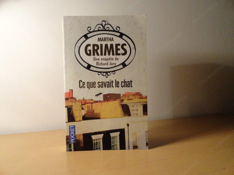 Martha Grimes lu par Béa pour lorraineblog