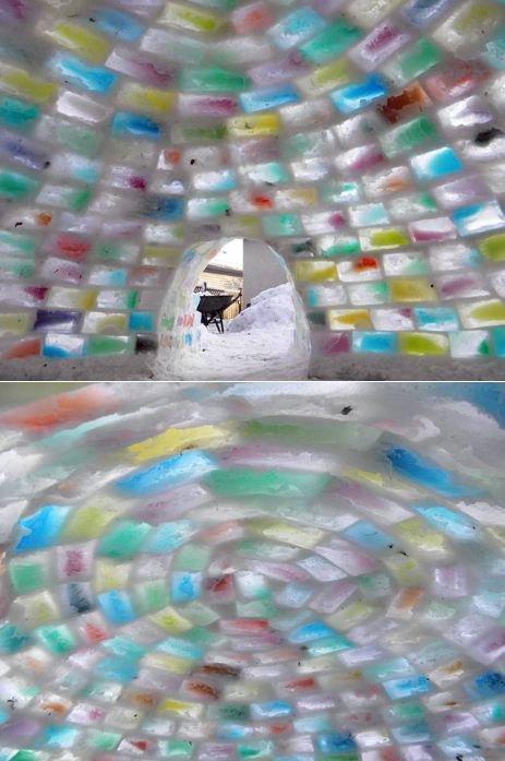 Igloo Arc-En-Ciel vu par Béa pour lorraineblog