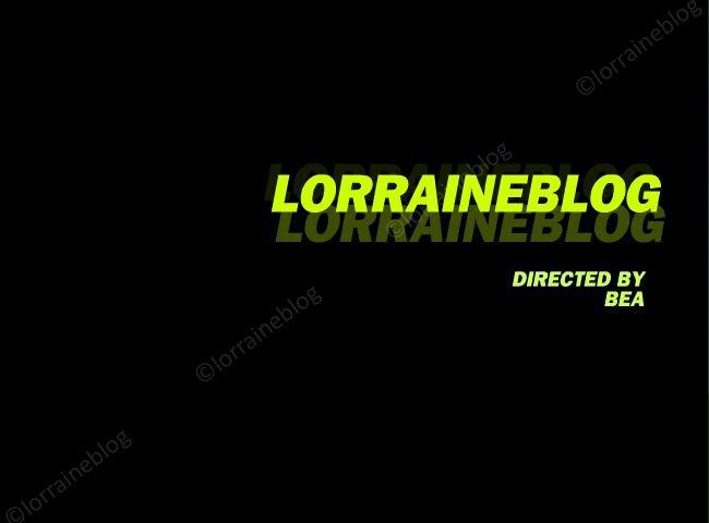 Vidéo personnalisée par Béa pour lorraineblog