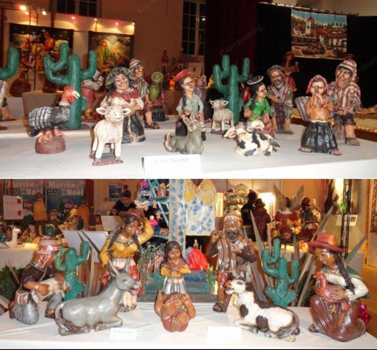 Crèches péruviennes _suite et fin_ vu par Béa pour lorraineblog