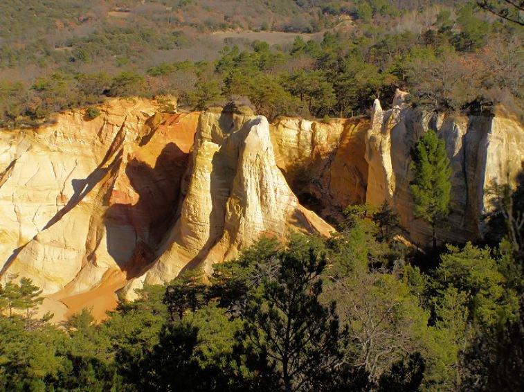 Le Colorado Provençal de Rustrel vu par Béa pour lorraineblog