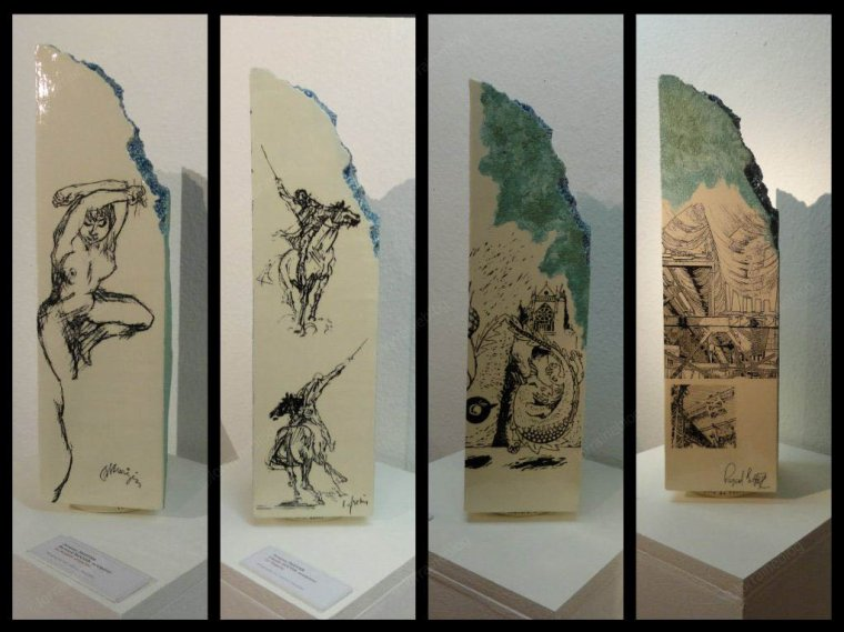 Photo et céramique #2 - suite 01 - vu par Béa pour lorraineblog