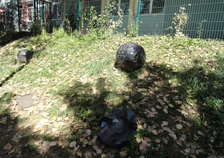 Le jardin des météorites par Béa pour lorraineblog