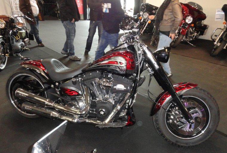 Harley Davidson vu par Béa pour lorraineblog