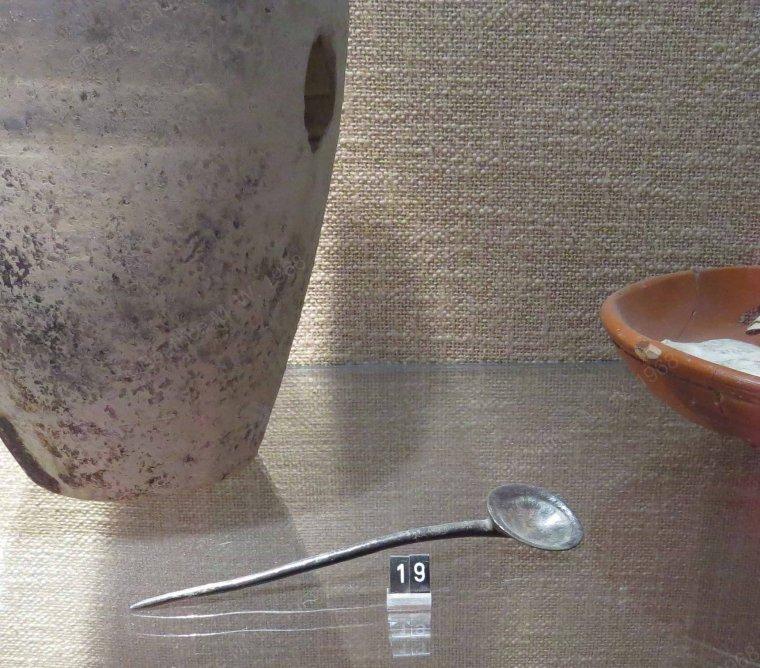 Une cuillère à huître par Béa pour lorraineblog