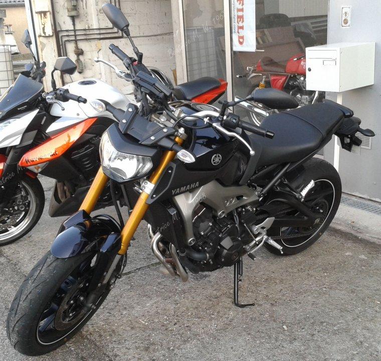 Yamaha MT-09 2013 vu par béa pour lorraineblog