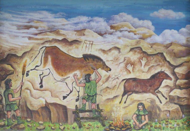 Fresque à Cadenbronn par Béa pour lorraineblog