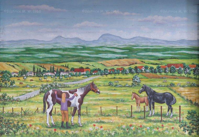 Fresque à Cadenbronn - suite - par Béa pour lorraineblog