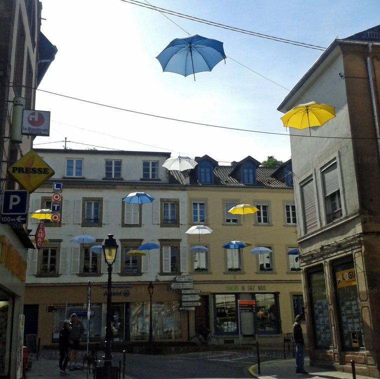 Parapluies de Bitche vu par Béa pour lorraineblog