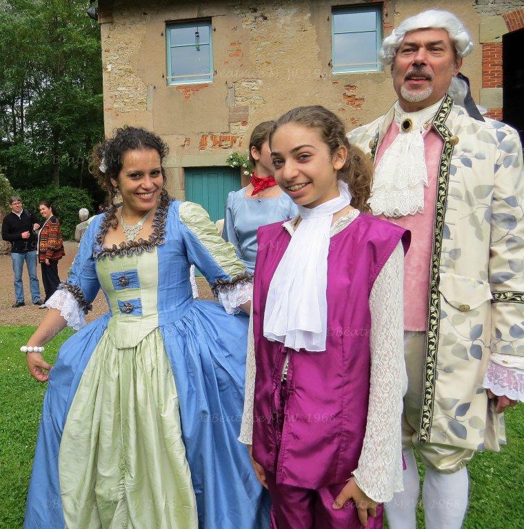 Les danseurs du Roy par Béa pour lorraineblog