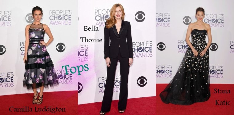 Les Tenues de Stars aux People's Choice Awards 2015