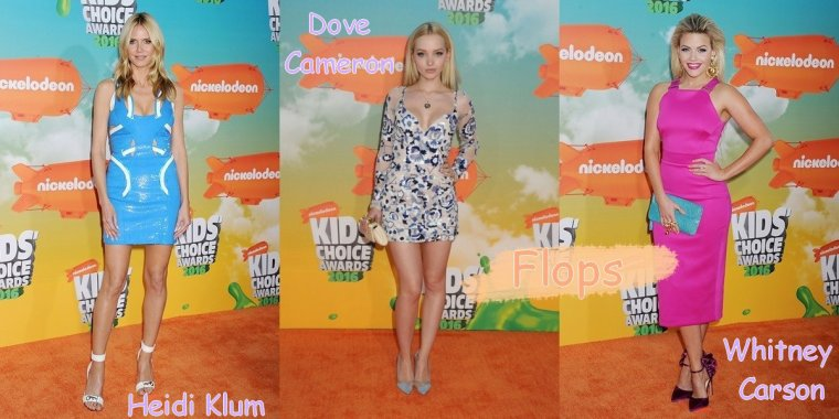Looks de Stars aux Kids Choice Awards 2016