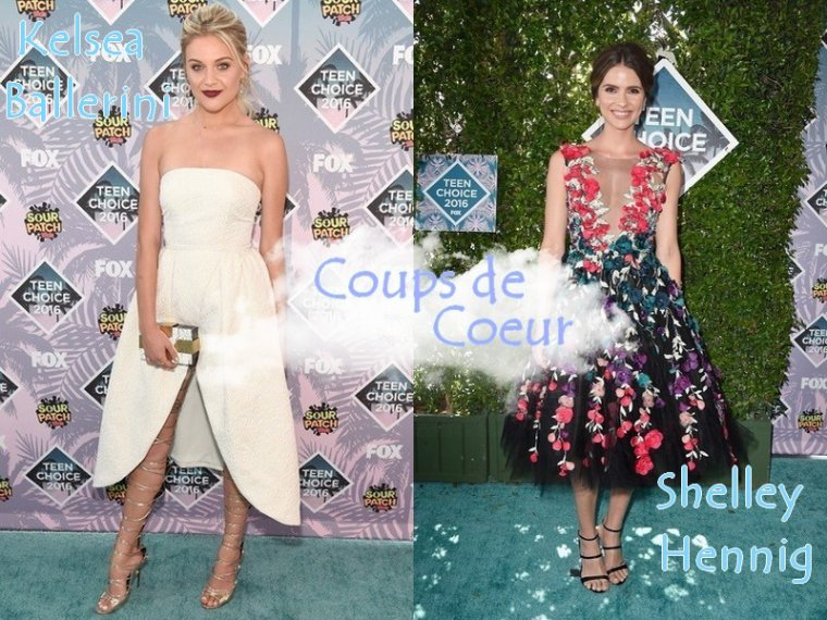 Les Tenues de Stars aux Teen Choice Awards 2016
