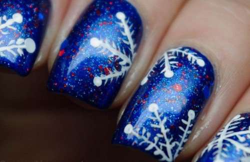 Ongles Flocons