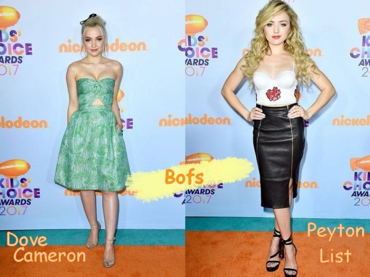 Looks de Stars aux Kids Choice Awards 2017