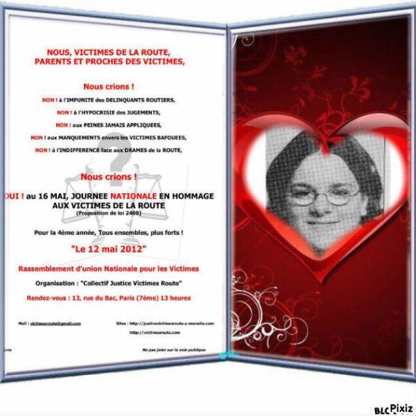 MARCHE BLANCHE POUR LES VICTIMES DE LA ROUTE 2012