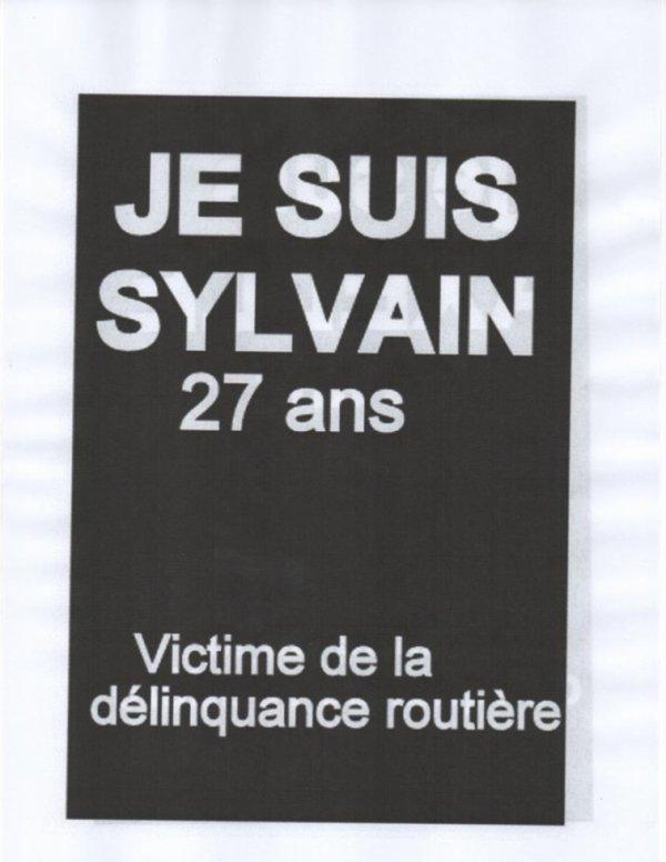 Sylvain 27 ans victime de la délinquance routière