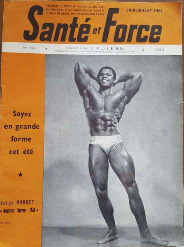 Santé et Force 1962 SERGE NUBRET