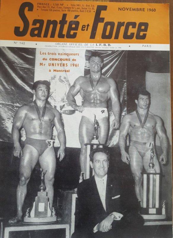 Santé et Force 1960 Ken Togawa Chuck Sipes Toni Bartoli