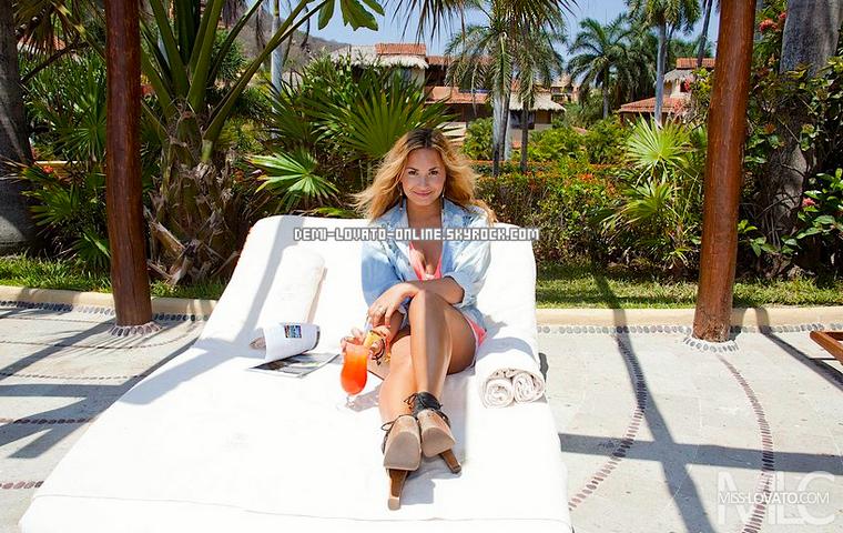 Vacances au Mexique + Guerre Demi/Britney
