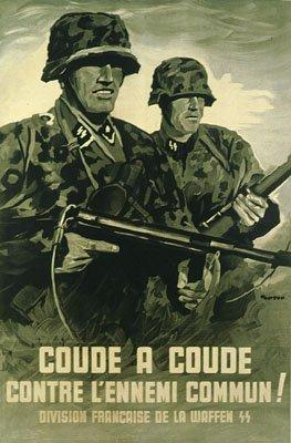 Les différentes divisions SS allemandes et étrangères.