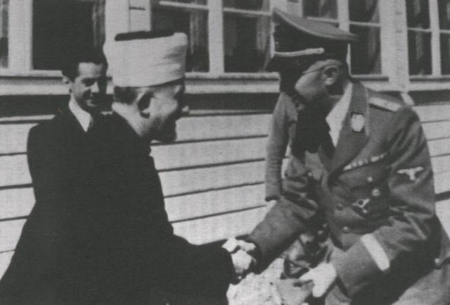 Le grand mufti de Jerusalem Al-Husseini
