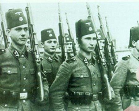 les musulmans et le nazisme.
