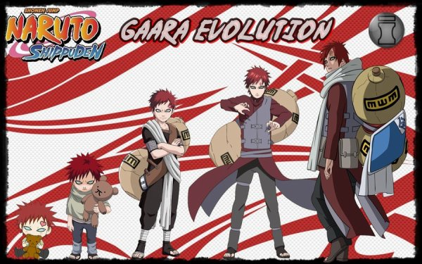 gaara evolution