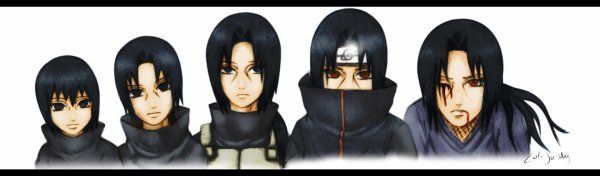 itachi evolution