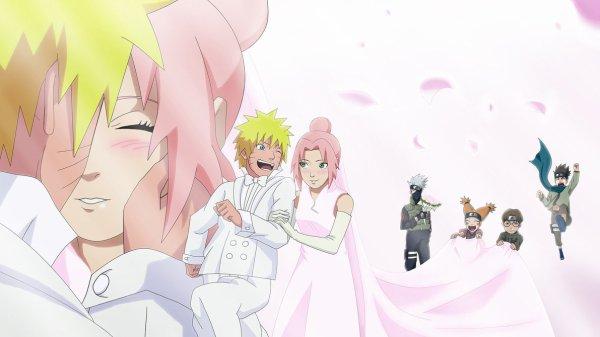 naruto et sakura mariage
