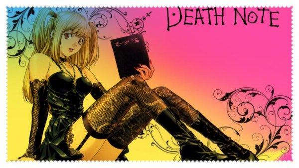"""ok je dois avouer que j'ai écouter un peu trop la version animée de """"Death Note"""""""
