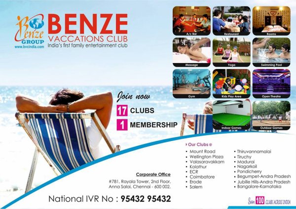Benze Vacations Club Diwali Offer