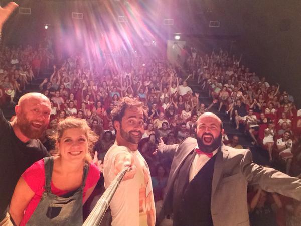 Florent Peyre au Festival d'Avignon!
