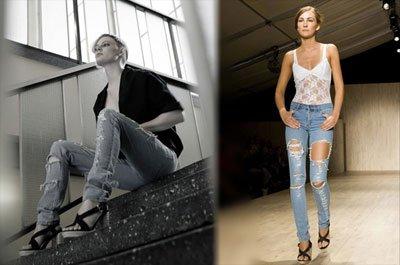 le jeans Sliim