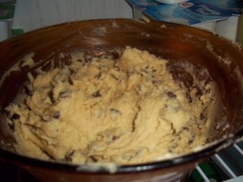 Cookies aux pépites de chocolat et la démonstration de Marine ;)