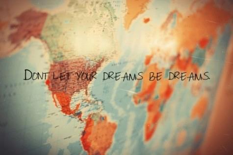 """Ne laisse pas tes rêves être """"juste"""" des rêves"""