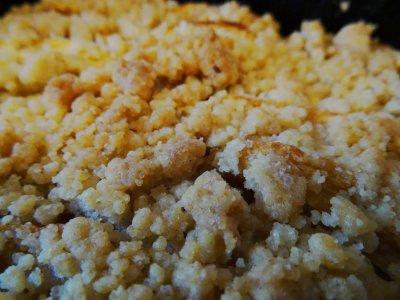 ✎ J'ai testé pour vous✎ la recette du Crumble aux pommes, goût Pain d'Epices