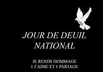 Journée de deuil national #JeSuisCharlie