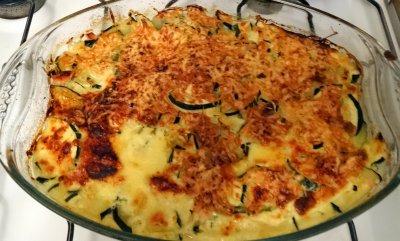 Recette du gratin de courgettes (version rapide) #cuisine #salé