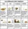 #Santé et #nature : les #laits #végétaux - #laitvégétal