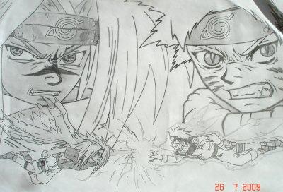 Naruto Vs Sasuke Chidori Rasengan Mon Royaume Contre Un