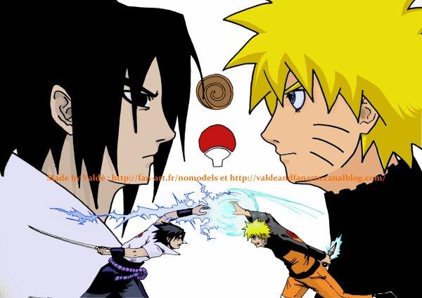 Raikiri VS Rasengan (colo)