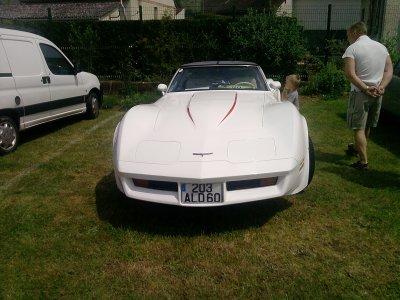 exposition 2010 de voitures anciennes aux marais