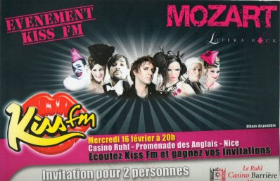 ShowCase Mozart l'Opera Rock